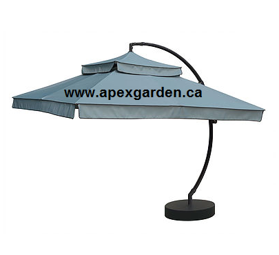 Replacement Canopy Top for YHA-13U 10'X10' Offset Umbrella - APEX GARDEN