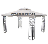 Replacement Canopy Top for YH-1012S 10'x12' Gazebo - APEX GARDEN