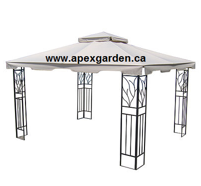 APEX GARDEN Replacement Canopy Top for YH-1012S 10'x12' Gazebo - APEX GARDEN