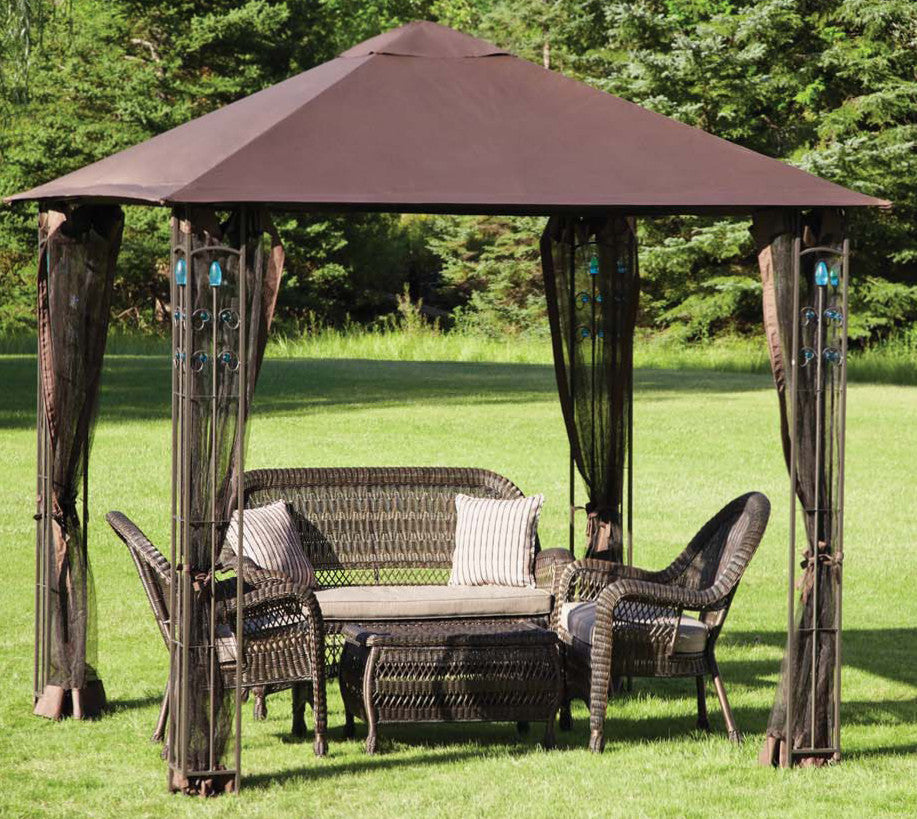 Replacement Canopy Top for YH-1033 8'X8' Gazebo - APEX GARDEN