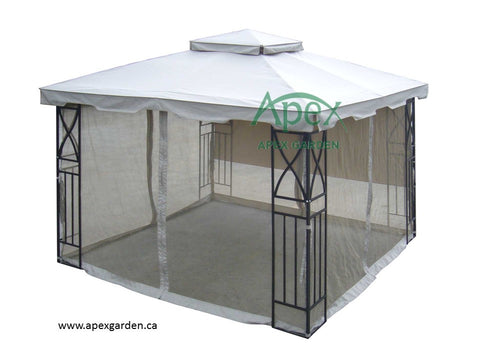 Replacement Canopy Top for YH-1087S 10'x10' Gazebo - APEX GARDEN