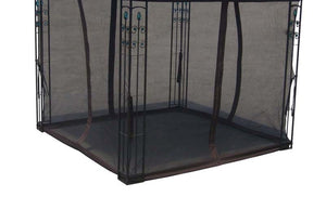 Replacement Mosquito Netting for 8'X8' Gazebo - APEX GARDEN