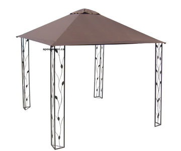Replacement Canopy Top for YH-1216 8'X8' Gazebo - APEX GARDEN