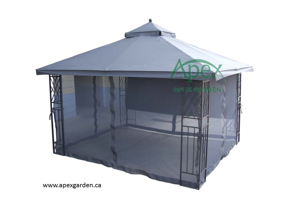 Replacement Canopy Top for YH-12601S-L 10'x12' Gazebo - APEX GARDEN