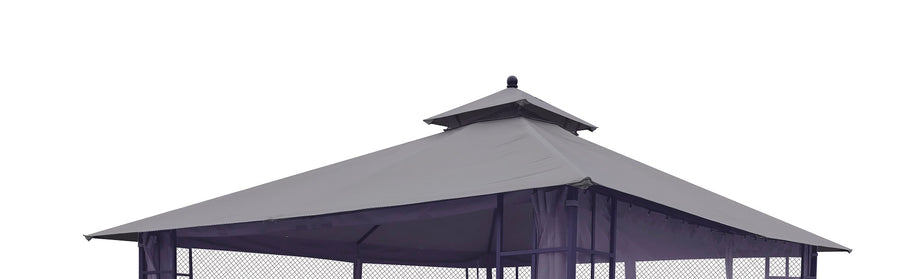 Replacement Canopy Top for YH-1908S 10'x12' Gazebo - APEX GARDEN