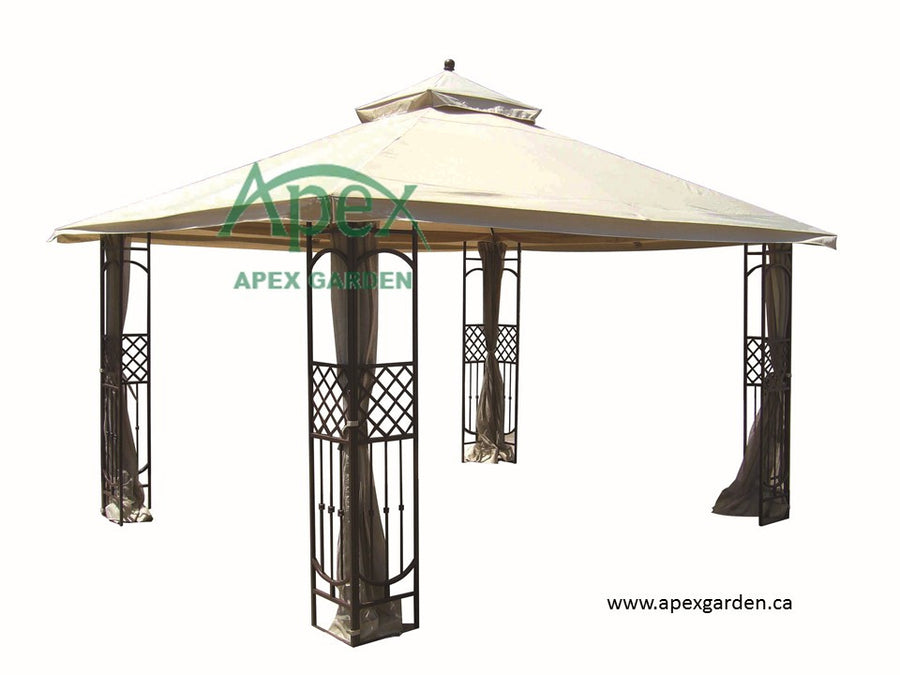 Replacement Canopy Top for YH-7052S 10'x12' Gazebo - APEX GARDEN