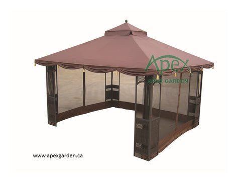 Replacement Canopy Top for YH-8001S 10'x12' Gazebo - APEX GARDEN