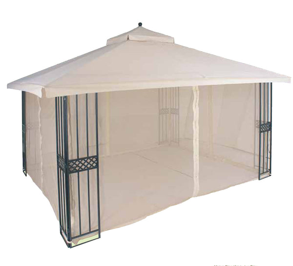 Replacement Canopy Top for YH-86004S 10'x12' Gazebo(NO OVERHANG) - APEX GARDEN