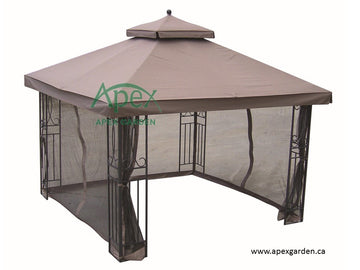 Replacement Canopy Top for YH-88001 10'x10' Gazebo(NO Outer Overhang) - APEX GARDEN