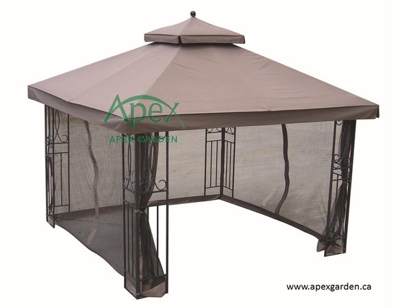 Replacement Canopy Top for YH-88001 10'x10' Gazebo - APEX GARDEN