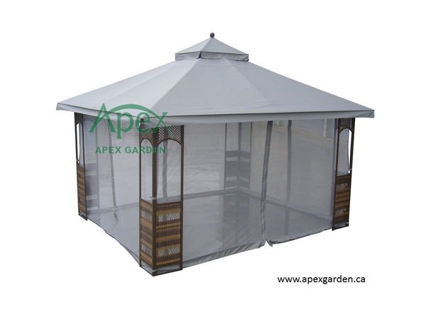 Replacement Canopy Top for YH-9024S 10'x12' Gazebo(NO OVERHANG) - APEX GARDEN