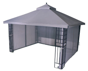 Replacement Canopy Top for YH-9902S 10'x12' Gazebo(NO OVERHANG) - APEX GARDEN