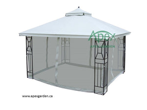 Replacement Canopy Top for YHA-11S 10'x12' Gazebo - APEX GARDEN