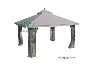 Replacement Canopy Top for YHH-12S 10'x12' Gazebo - APEX GARDEN