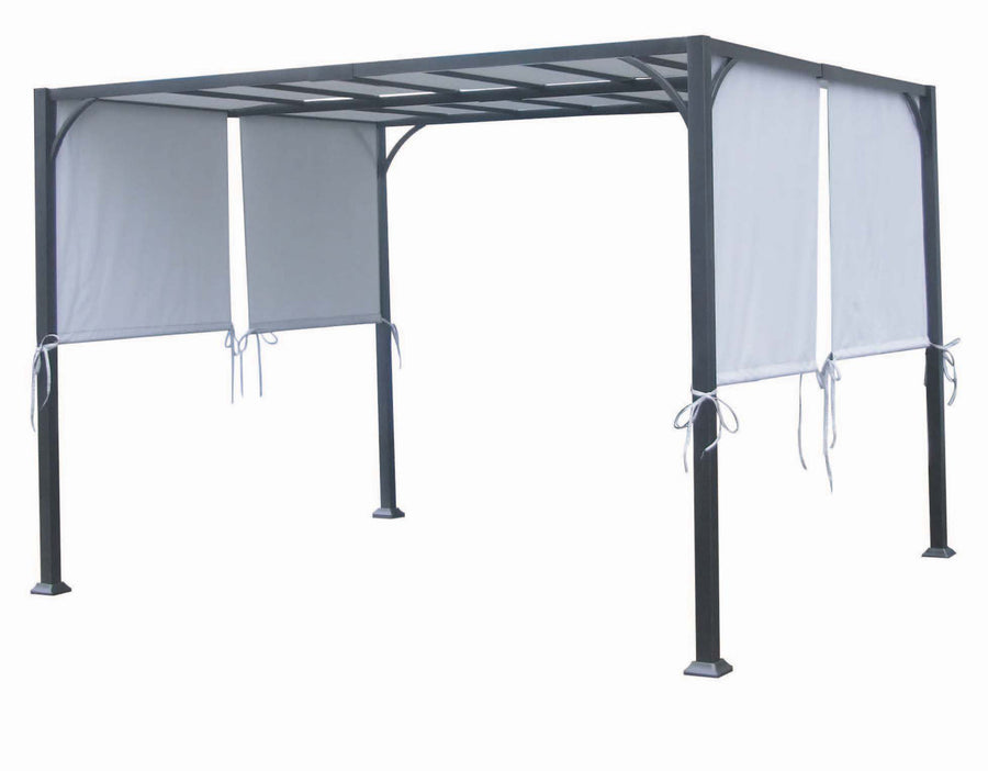 Replacement Canopy Top for YHH-14GSG-1 8'x10' PORTO Pergola / Gazebo /Sunshade - APEX GARDEN