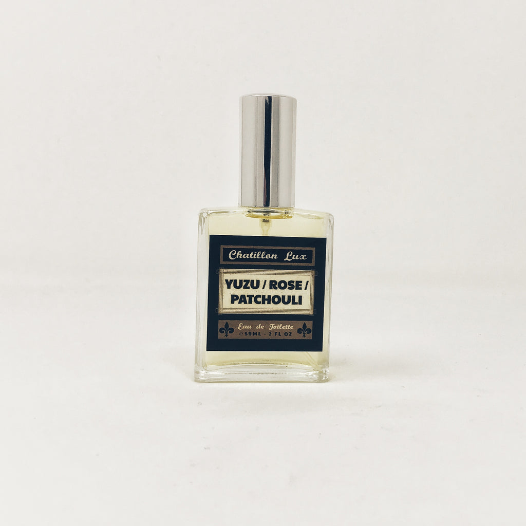 Scent Notes: Yuzu/Rose/Patchouli
