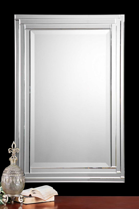 FRAMELESS MIRROR - Donna's Home Furnishings in Houston