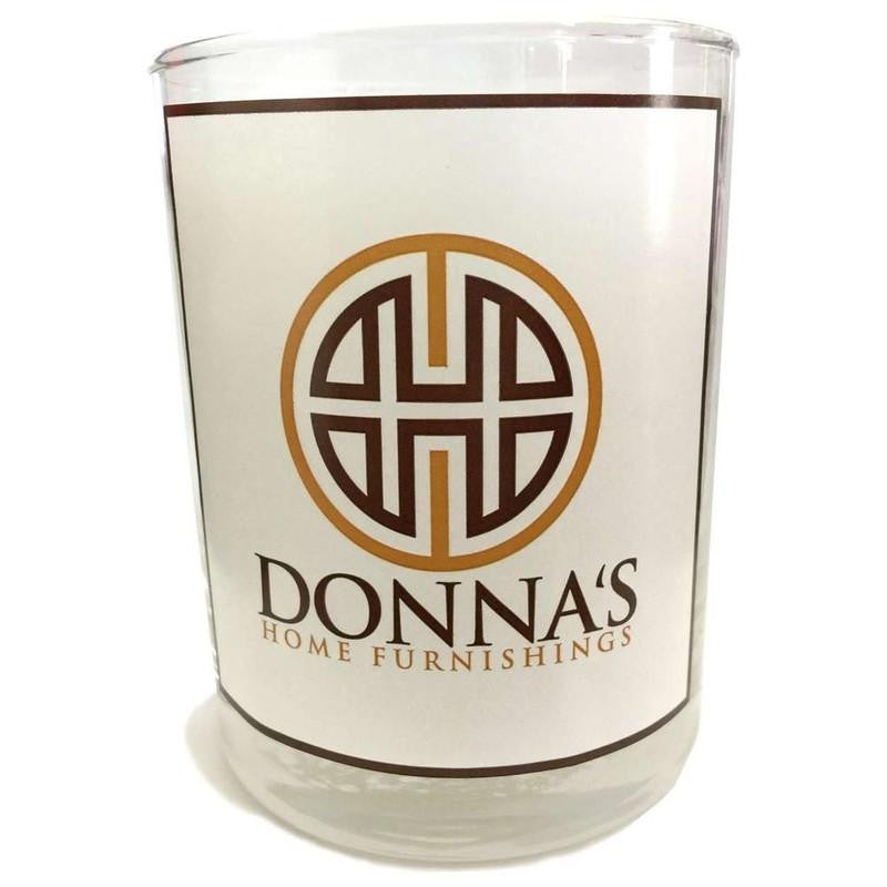 13oz GLASS DONNA'S SIGNATURE SCENT - Donna's Home Furnishings in Houston