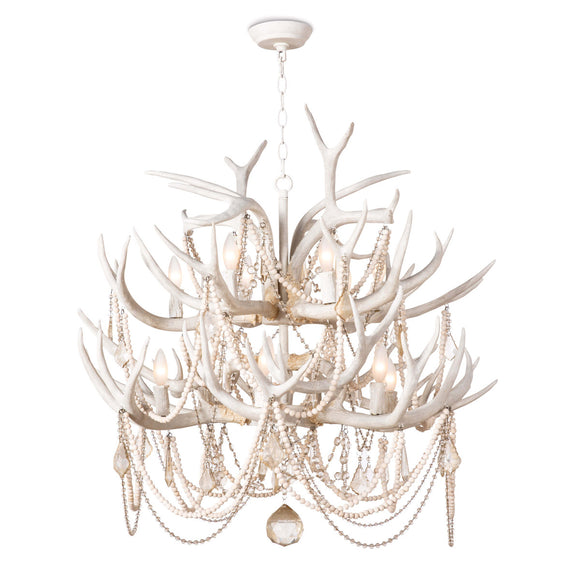 CHEYANNE LANTERN CHANDELIER - Donna's Home Furnishings in Houston