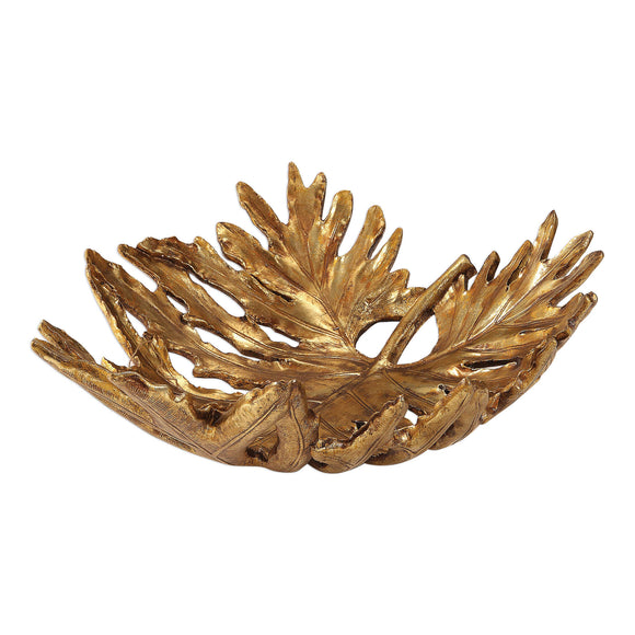 LEAF BOWL - Donna's Home Furnishings in Houston
