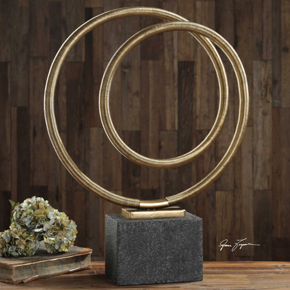 GOLD SCULPTURE - Donna's Home Furnishings in Houston