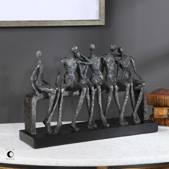 SILVER FRIEND FIGURINE - Donna's Home Furnishings in Houston