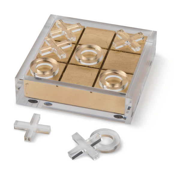 ACRYLIC TIC TAC TOE - Donna's Home Furnishings in Houston