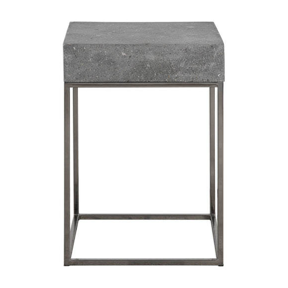 COCNRETE ACCENT TABLE - Donna's Home Furnishings in Houston