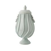 NOONDAY TIDE RIPPLE URN WITH LID - Donna's Home Furnishings in Houston