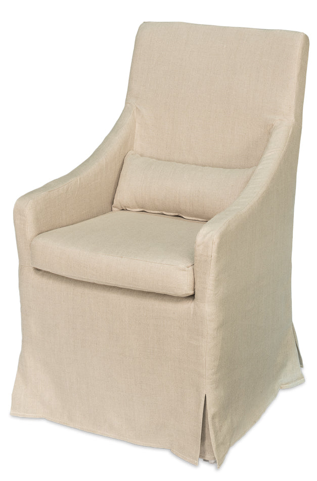 SKIRTED ARM CHAIR - Donna's Home Furnishings in Houston
