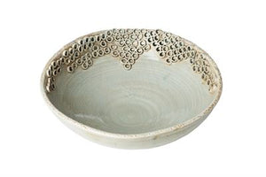 GRAY CERCH BOWL - Donna's Home Furnishings in Houston