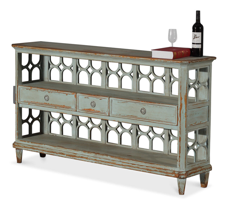 WINE CONNOISSEUR SHELF - Donna's Home Furnishings in Houston