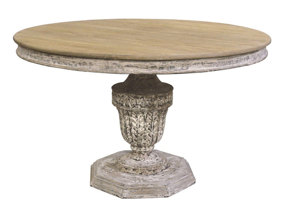PEDESTAL DINING TABLE - Donna's Home Furnishings in Houston