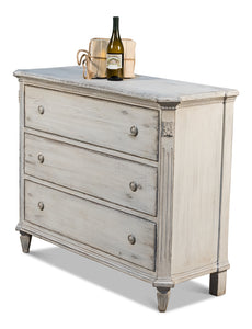 STONE GREY FISHER COMMODE