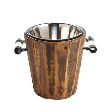 WOOD WINE COOLER