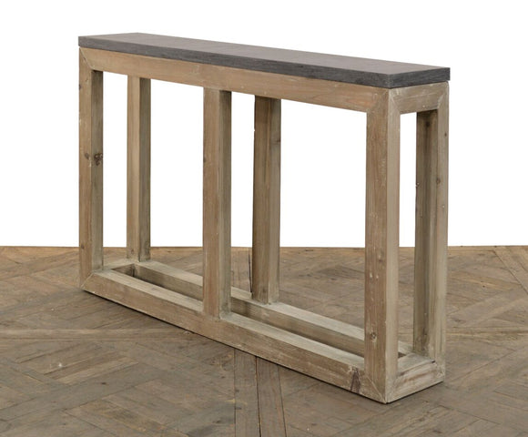 BLUE STONE CONSOLE - Donna's Home Furnishings in Houston