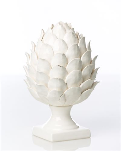 WHITE ARTICHOKE - Donna's Home Furnishings in Houston