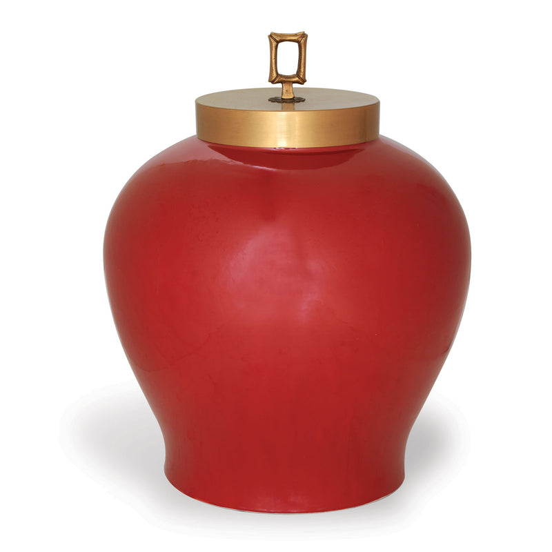MELROSE RUBY JAR - Donna's Home Furnishings in Houston