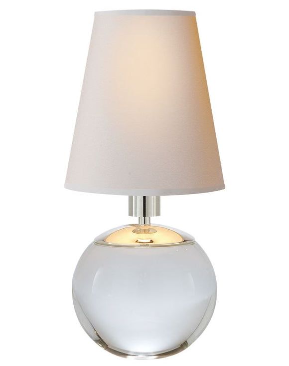 TERRI TINY ROUND ACCENT LAMP - Donna's Home Furnishings in Houston