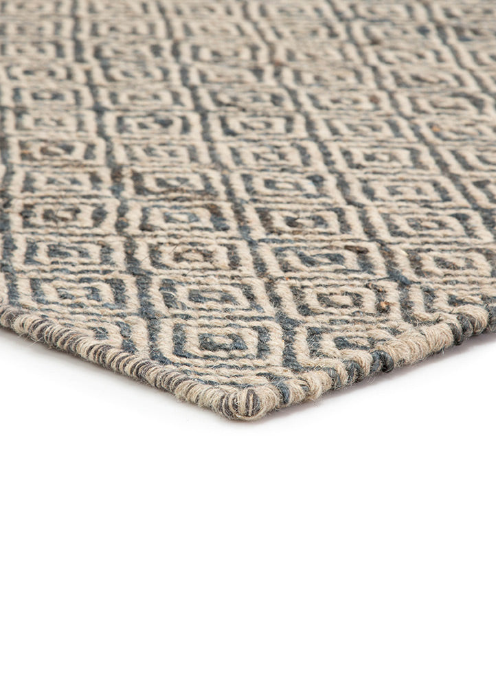 Jaipur Naturals Ambary AMB01 Naturals Rug in Parchment /Turbulence - Donna's Home Furnishings in Houston
