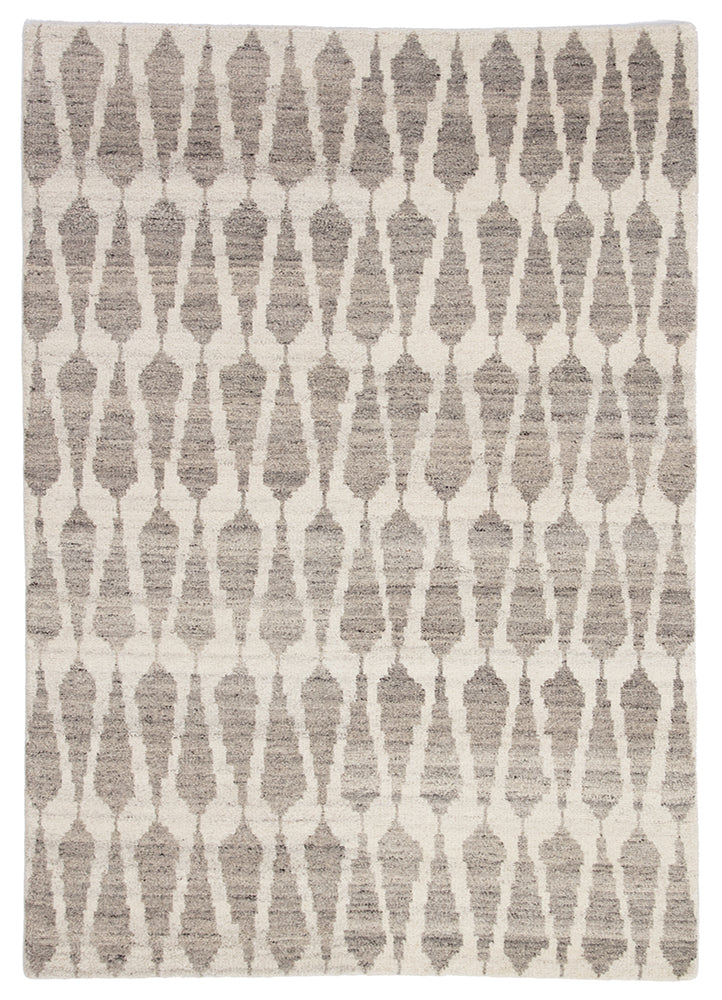 Jaipur Azland AZL04 Hand-Knot Rug in Whitecap Gray/Fallen Rock - Donna's Home Furnishings in Houston