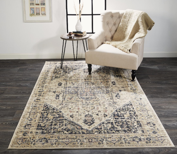 GRAYSON CHARCOAL BEIGE - Donna's Home Furnishings in Houston