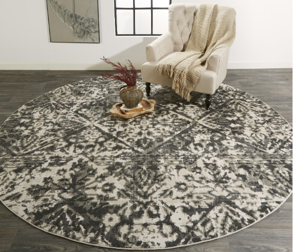 KANO CHARCOAL IVORY - Donna's Home Furnishings in Houston