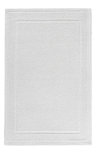 BEE WAFFLE RUG 28X55 WHITE - Donna's Home Furnishings in Houston