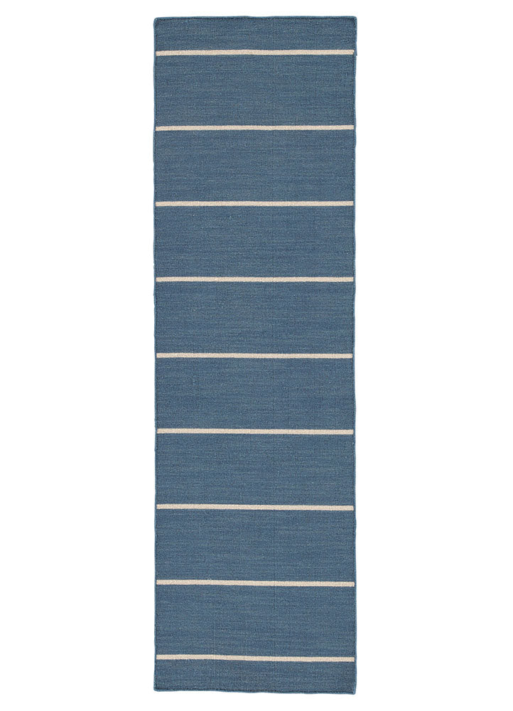Jaipur Coastal Shores COH09 Flat Weave Wool Rug in Stellar/Fog - Donna's Home Furnishings in Houston