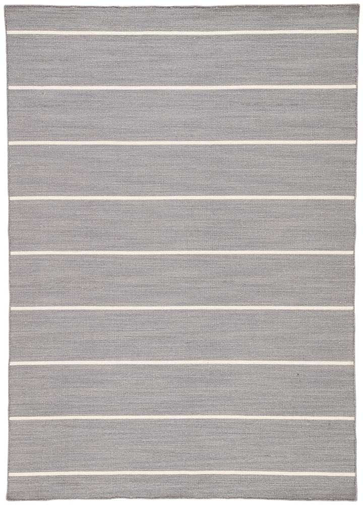 Jaipur Coastal Shores COH13 Flat Weave Wool Rug in Drizzle/Gardenia - Donna's Home Furnishings in Houston