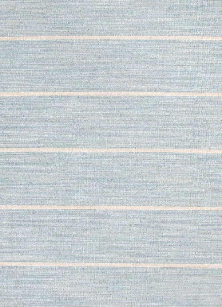 Jaipur Coastal Shores COH16 Flat Weave Wool Rug in Celestial Blue/Light Gray - Donna's Home Furnishings in Houston