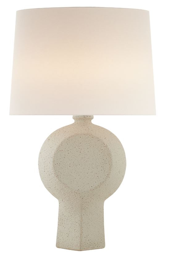 NICOLE TABLE LAMP IN VOLCANIC IVORY
