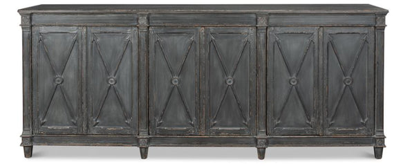 X-FRONT GREY SIDEBOARD