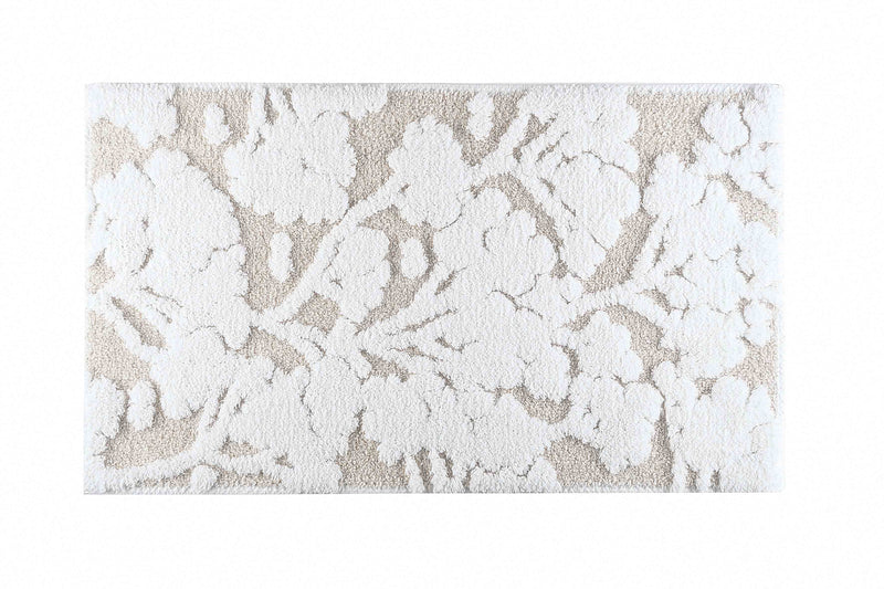 EDEN BATH RUG 20X31 WHITE - Donna's Home Furnishings in Houston
